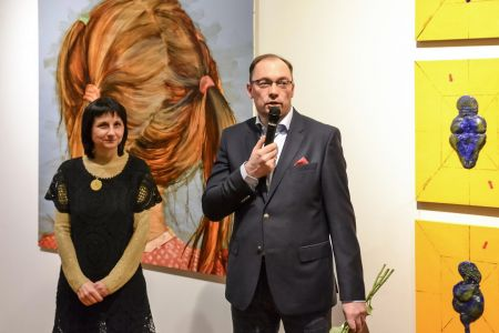 "RZ Collection. ""... and She"" Exhibition in Liepaja"